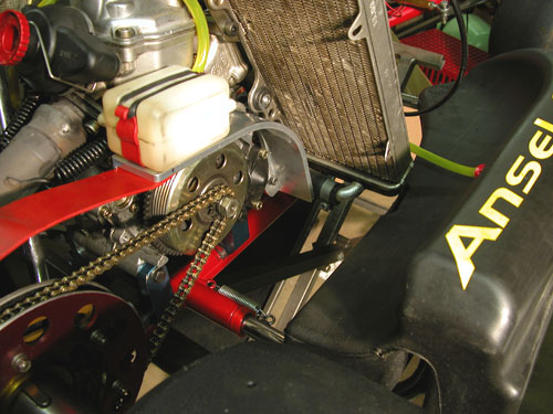 Rotax Chain Guard